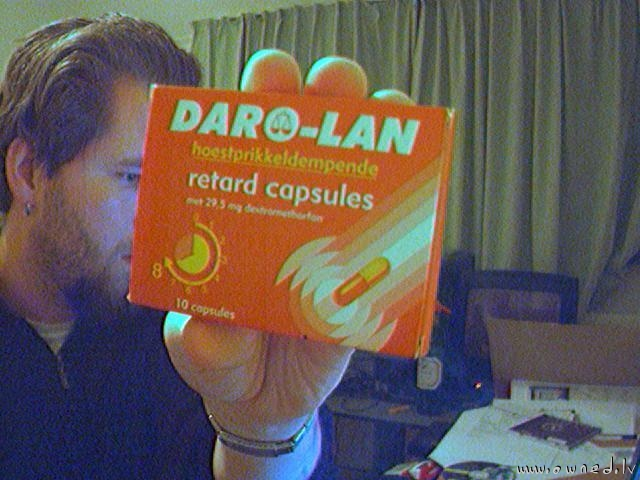 Retard capsules