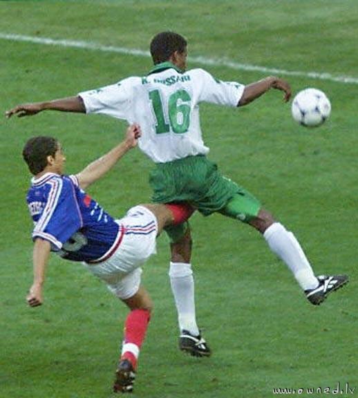 Kicking the wrong ball
