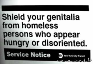 Shield your genetalia
