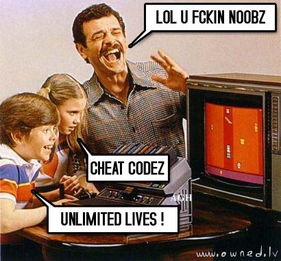 Cheat codezzzz