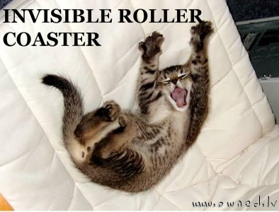 Invisible rollercoaster