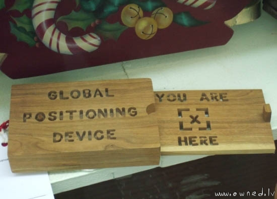 Global Positioning Device