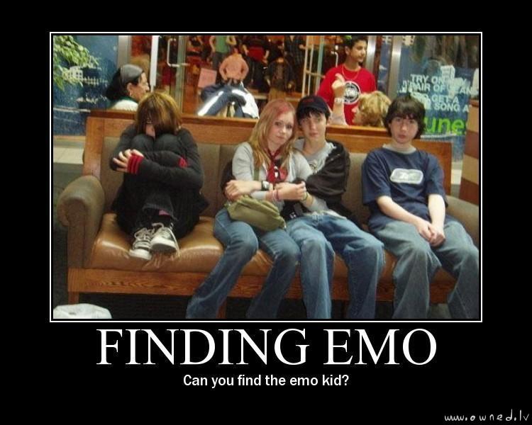Game : Find emo