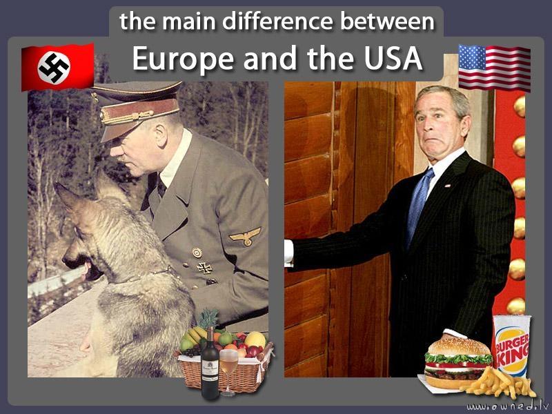 Europe and the USA