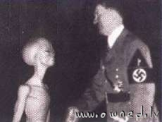 Hitler and alien