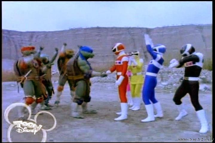 TMNT & Power rangers ... LAME