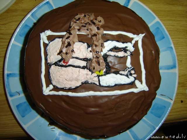 Tubgirl cake