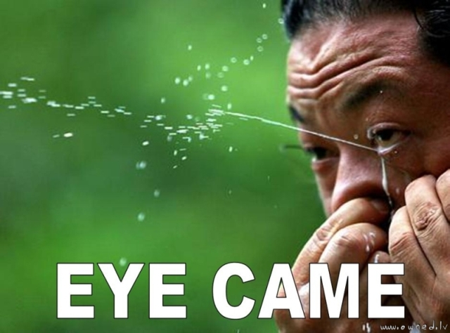 Eye came