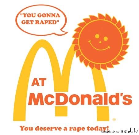 At McDonald's