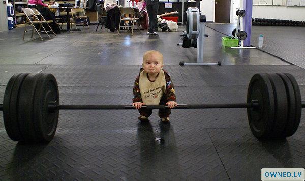 Baby Body Builder