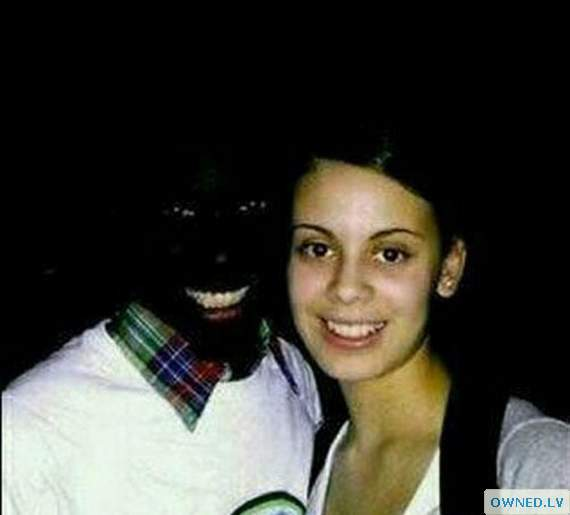 pic of a black boy and white girl.