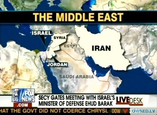 So, Fox... is that where you think Egypt is?