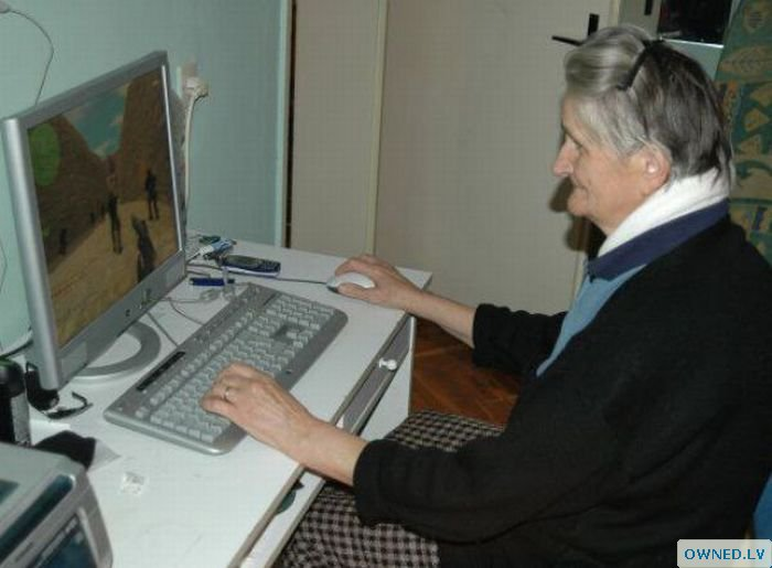 Never too old for Counter Strike?