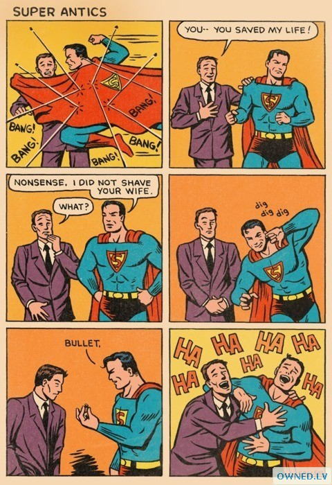 Oh Superman, You So Funny!