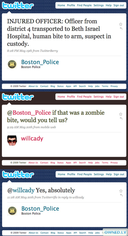 Twitter: keeping you aware of zombie threats since 2006!