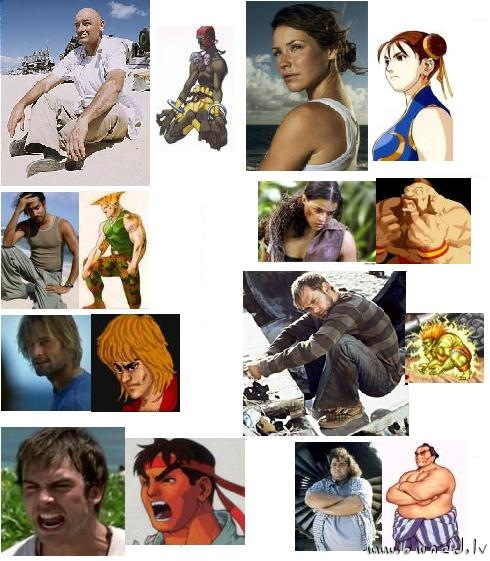 Lost : Streetfighter