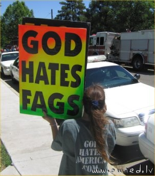 Even God hates them