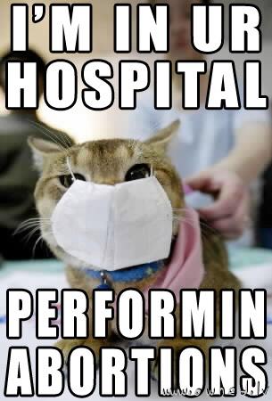 I'm in ur hospital