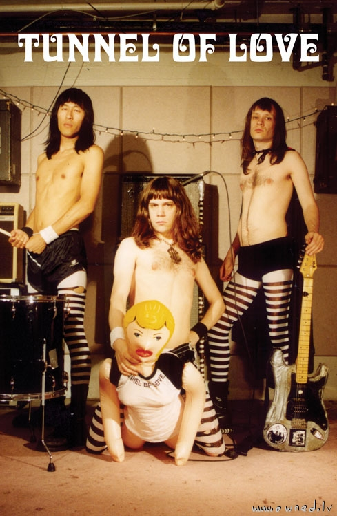 Strange rock band