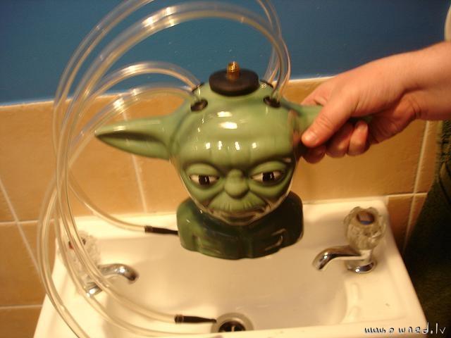 Yoda waterpipe