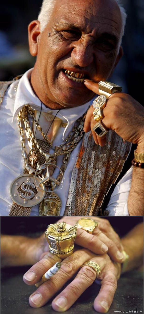 King of bling