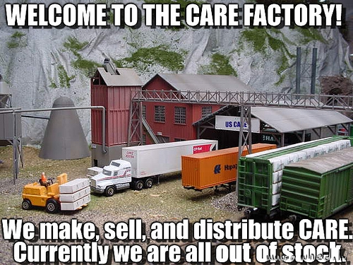 Care factory out of stock