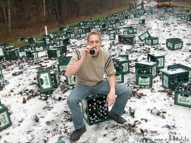 A beer tragedy