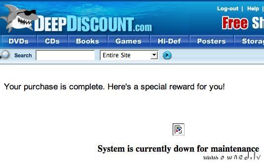 Special reward for you !