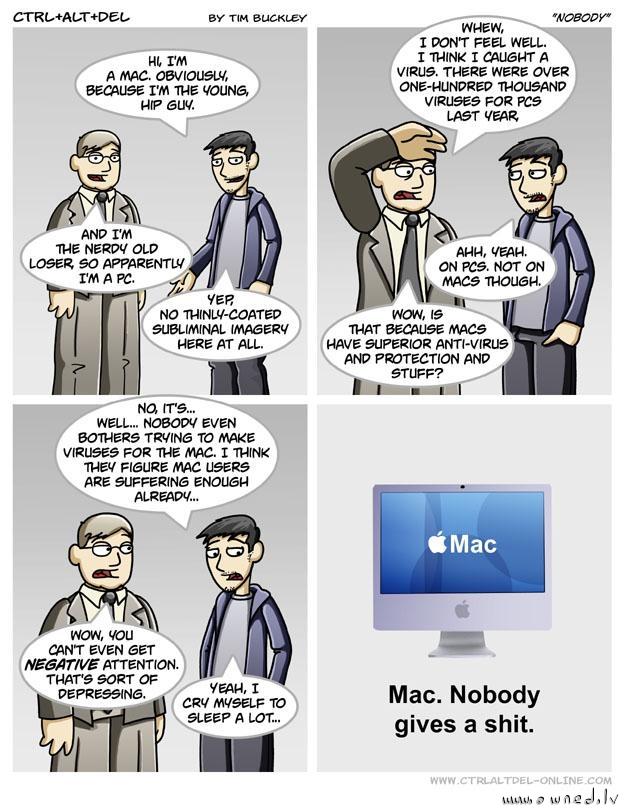 Mac - Nobody gives a shit