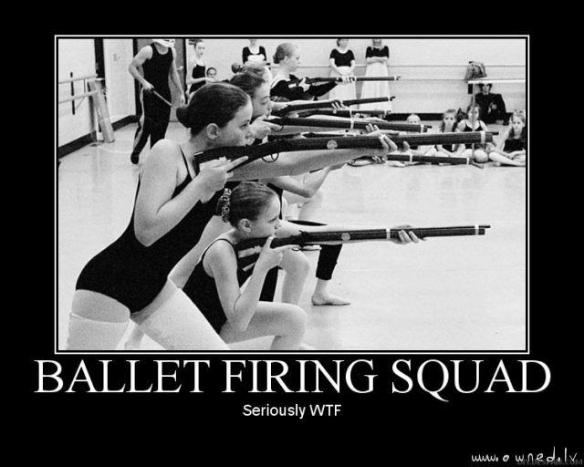 Ballet firing squad