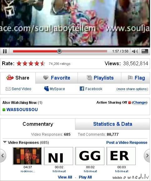 Video response to Soulja Boy