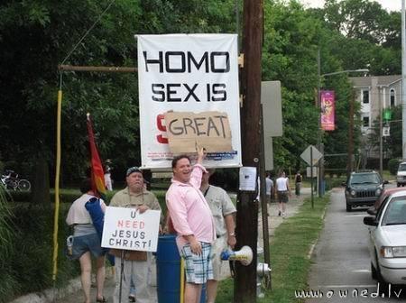 Homo sex is great
