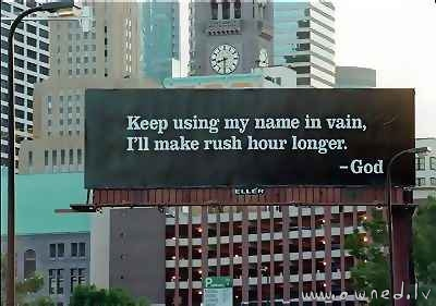 I will make rush hour longer