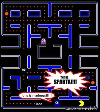 Pacman - This is SPARTA !!!!