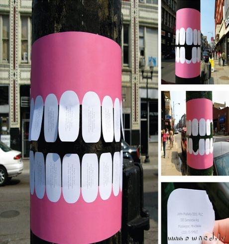 Cool dentist ad