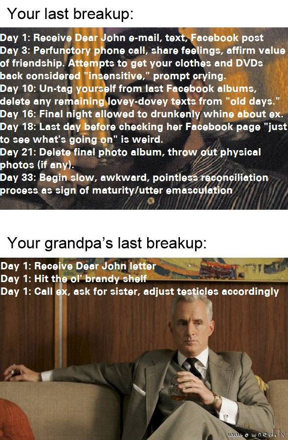 Your last breakup