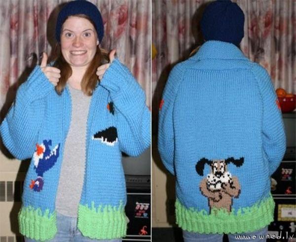 Duck Hunt sweater