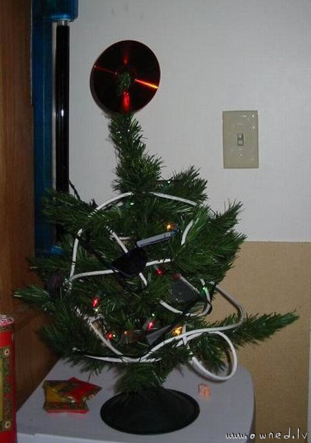 Nerdy christmas tree