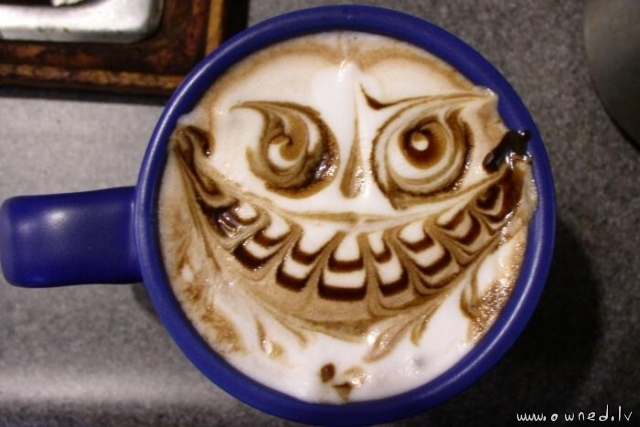 Evil capuchino