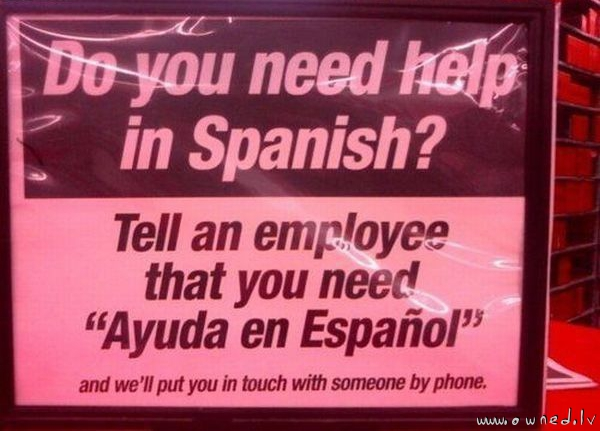 Dont speak english ?