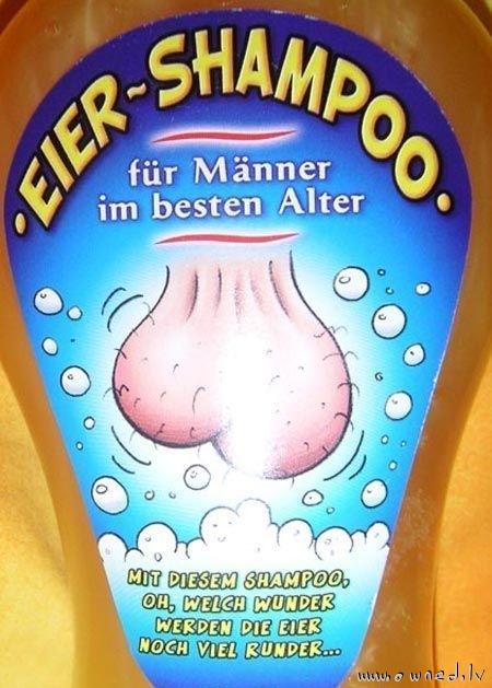 Strange shampoo