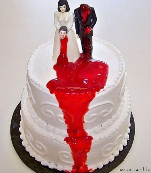 Strange cake