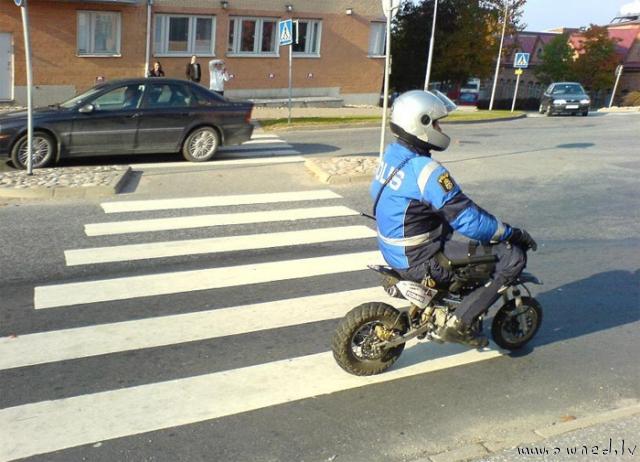 Motorized police