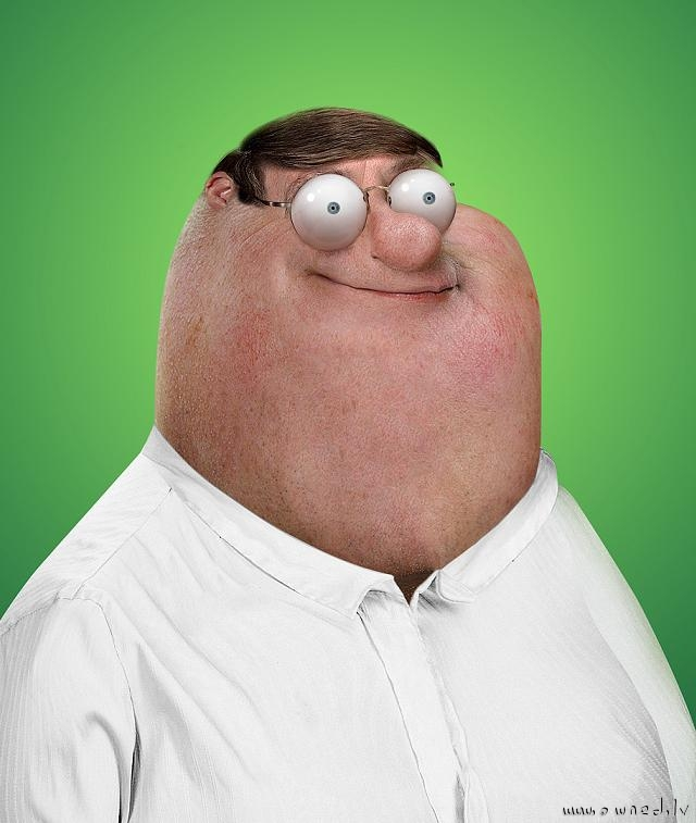 If Peter Griffin were real