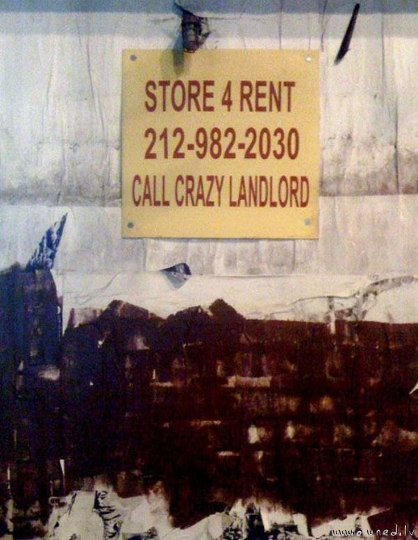 Call crazy landlord