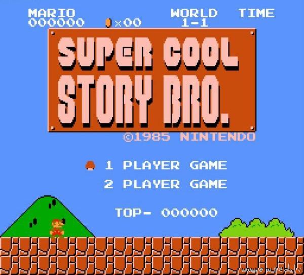 Super cool story bro