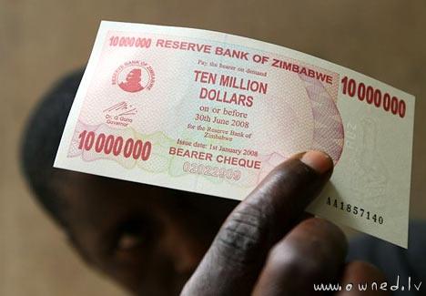 Ten million dollars