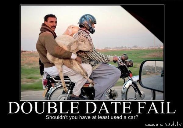 Double date fail