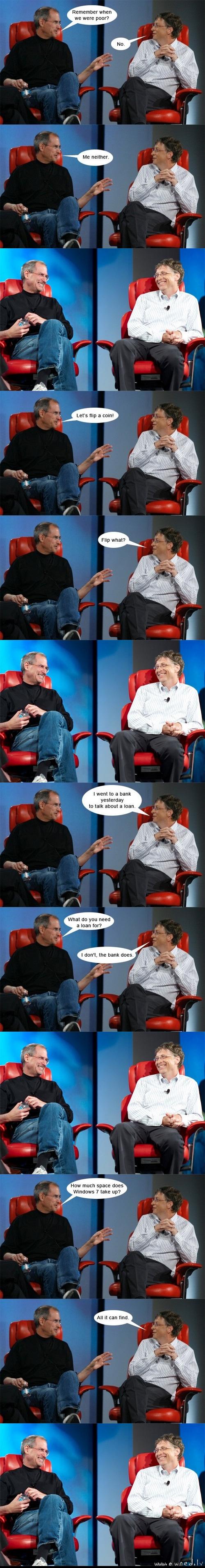 Steve and Bill