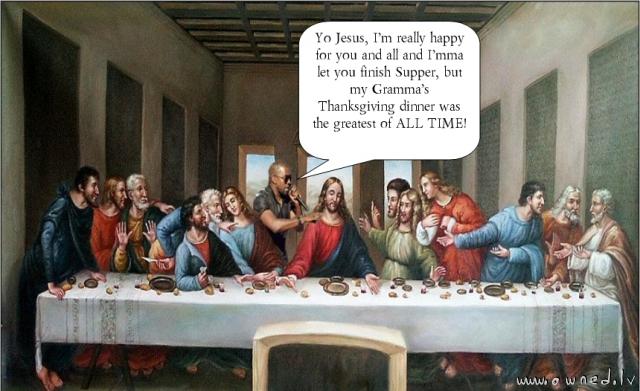 Imma let you finish Jesus